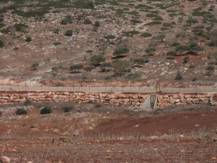 110 första byn mur